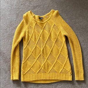 American Eagle Oversized scoopneck sweater